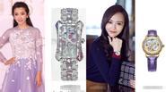 """""""Mãn nhãn"""" với bộ sưu tập đồng hồ xa xỉ của các mỹ nhân Hoa ngữ"""