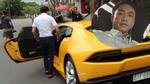 """Xem Cường """"Đô-la"""" điều khiển siêu xe Lamborghini Huracan trên phố"""