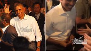 Bí ẩn tình tiết Obama tháo nhẫn cưới đút túi ở quán bún