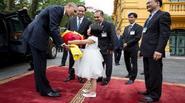 Một thoáng Hà Nội qua ống kính của phái đoàn tháp tùng ông Obama