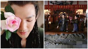 """Tạo hình """"hoa mỹ nam"""" của Chung Hán Lương khiến fan thích thú"""