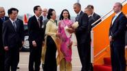 Profile của cô gái tặng hoa cho Tổng thống Obama tại Tân Sơn Nhất có gì đặc biệt ?