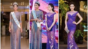 Hoa hậu Pháp khoe sắc rạng rỡ bên HH Kỳ Duyên