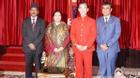 Lục Tiểu Linh Đồng diện kiến Tổng thống Nepal