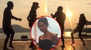 Clip Victoria Beckham nhảy múa dưới hoàng hôn siêu hot