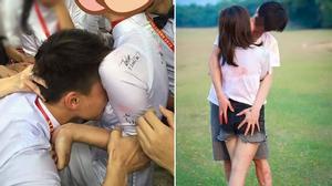 Nhức mắt hình ảnh ngày chia tay phản cảm của teen Việt