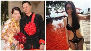 Chồng Hồ Hạnh Nhi bị tố ngoại tình