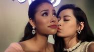 Facebook 24h: Chi Pu hân hoan khoe khoảnh khắc được hôn má Phạm Hương