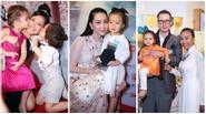 Linh Nga, Hồng Nhung, Đoan Trang đưa con đi dự sự kiện