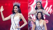 Ngắm nhan sắc xinh đẹp của Tân Hoa hậu Thế giới Thái Lan