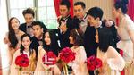 """""""Tứ đại nam thần"""" của Hoa ngữ trở thành phù rể trong đám cưới Viên Hoằng"""