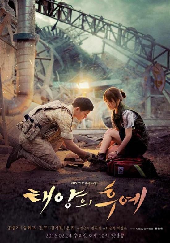"""Những phim Hàn """"gây bão"""" nửa đầu năm 2016"""