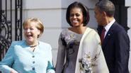 Sự thật bức ảnh phu nhân Tổng thống Obama mặc chiếc áo dài do NTK Việt Nam gửi tặng