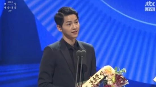 'Hậu duệ mặt trời' đại thắng tại lễ trao giải Baeksang 2016