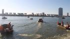 Tiếp tục tìm kiếm 3 nạn nhân còn mất tích trong vụ lật tàu trên sông Hàn