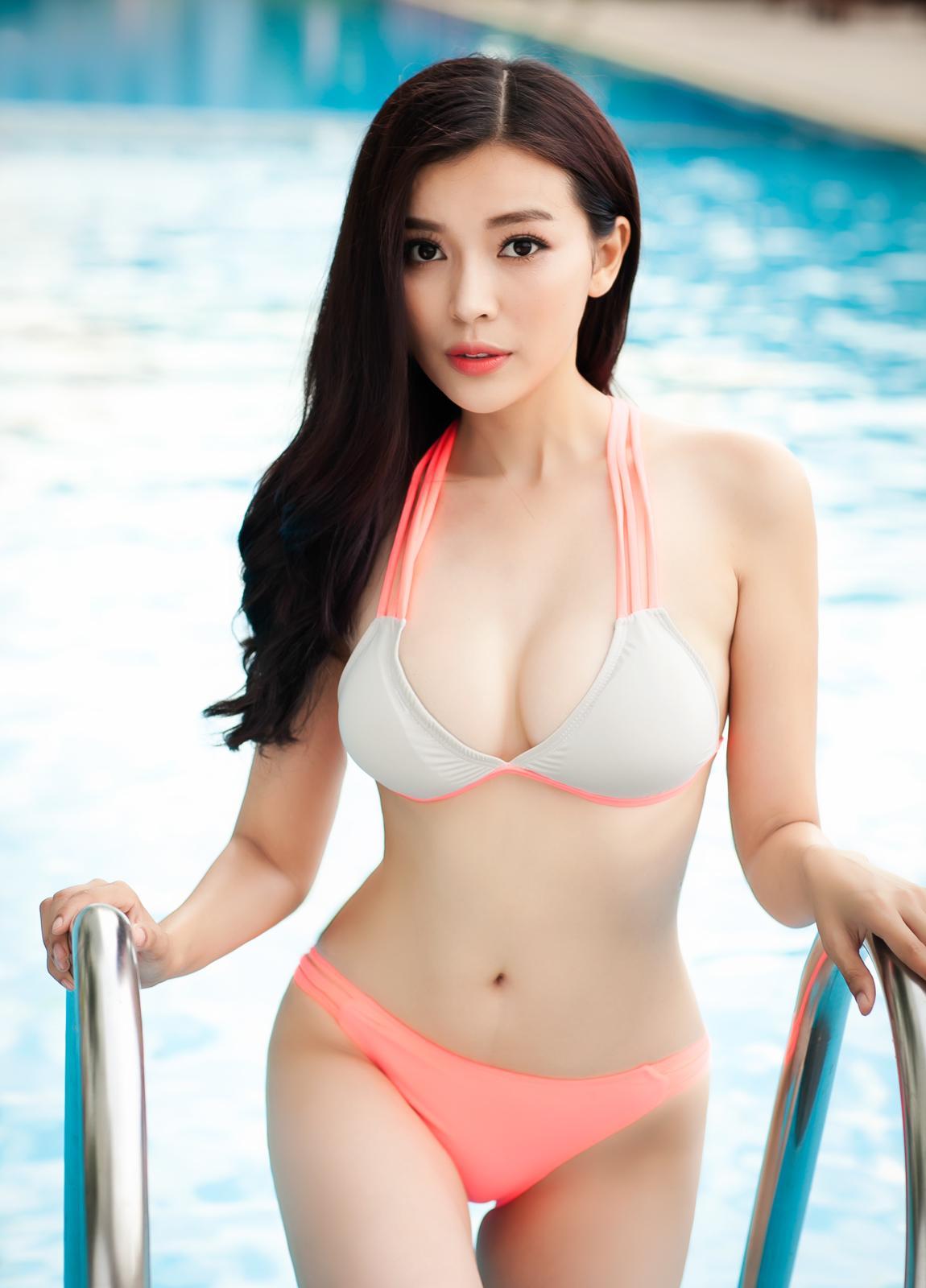 naked Bikini Tram-Anh Tran (63 foto) Topless, Twitter, butt