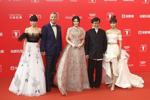Cả giới giải trí Hoa ngữ hội tụ tại LHP Quốc tế Thượng Hải  - Ảnh 27