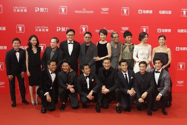 Cả giới giải trí Hoa ngữ hội tụ tại LHP Quốc tế Thượng Hải  - Ảnh 28