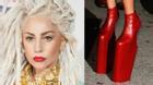 Chỉ có Lady Gaga mới dám đi những đôi giày