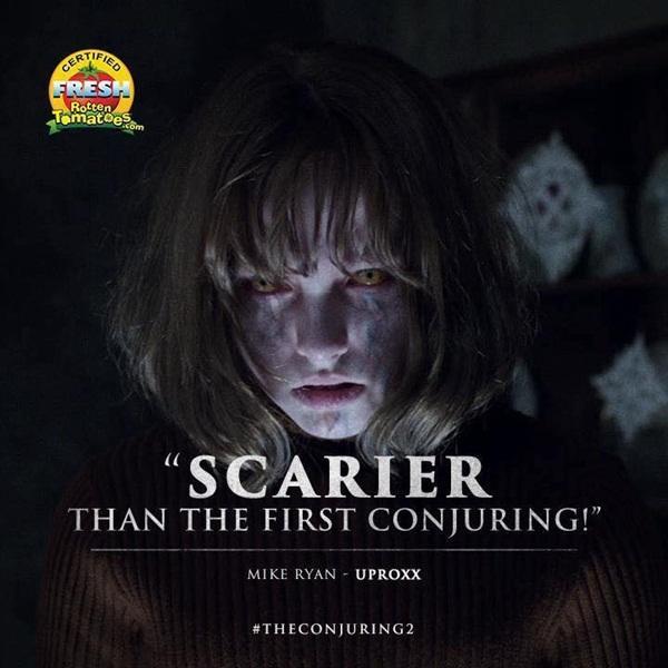 Rotten Tomatoes đã chứng nhận phần 2 kinh dị hơn cả phần trước đó.