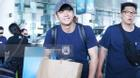 Kang Tae Oh cười tươi, giản dị xuất hiện tại sân bay Nội Bài
