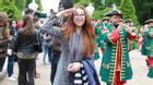 Gái một con Lều Phương Anh đi xem đêm trắng tại Nga