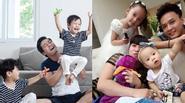 Những ông bố đáng ngưỡng mộ của showbiz Việt