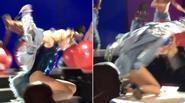 Hết Justin Bieber lại tới Selena Gomez 'vồ ếch' trên sân khấu