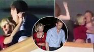Taylor Swift và bạn trai mới không ngừng âu yếm khi đi xem ca nhạc