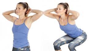 5 phút tập squat để có vòng ba săn chắc