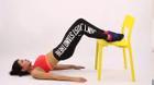 5 động tác cực dễ mà bạn có thể tập với ghế để có eo thon, lưng thẳng