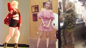 Ngã ngửa khi nhìn thấy thân hình ngoài đời thực của hot girl mạng xã hội Trung Quốc