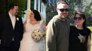 Cặp đôi giảm ngoạn mục 172 kg chỉ trong một năm