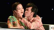 Hoài Linh không ngại ngần khi hôn Mỹ Linh trên sóng truyền hình