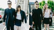 Angela Baby và Huỳnh Hiểu Minh đẹp như fashionista tham dự show Givenchy
