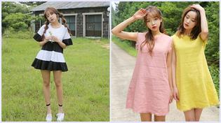 Các mẫu váy hè mát nhẹ cho ngày oi bức