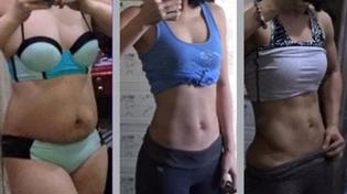 """Bà mẹ hai con chia sẻ bí quyết giảm 17kg và """"đánh bay"""" 28cm vòng eo ngấn mỡ"""