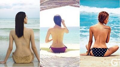 Mỹ nhân Việt hút vạn click chuột với thân hình chuẩn như đồng hồ cát