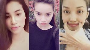 """Bộ ba giám khảo The Face xứng danh """"nữ hoàng mặt mộc"""""""