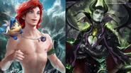 Các nữ nhân vật Disney sẽ trông như nào khi biến thành...nam