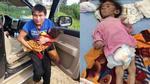 Bé gái 14 tháng nặng 3,5kg: Mẹ và anh mất tích, bố nuôi bằng nước cơm qua ngày