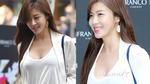 Ha Ji Won dính nghi án nâng ngực sau khi xuất hiện với áo cổ rộng sexy