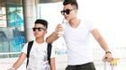 Vĩnh Thụy hé lộ em trai nam tính, menlly tại sân bay đi du lịch nước ngoài