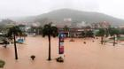 Quảng Ninh ngập nặng do mưa lớn, một người chết