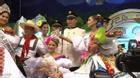 Á hậu Colombia cướp vương miện trong lúc trao giải