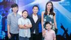 VNID: Dương Mỹ Linh đưa 3 con tới trường quay cổ vũ Bằng Kiều