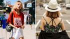 Street style giới trẻ 2 miền tuần qua: áo phông, shorts, kẻ & hoa lá rực rỡ tràn ngập