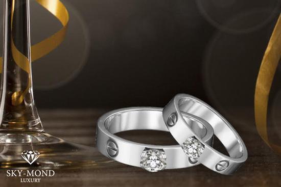 Trọn vẹn mùa yêu với BST nhẫn cưới đẳng cấp Skymond