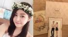 Lộ hình ảnh thiệp cưới của Trần Nghiên Hy - Trần Hiểu