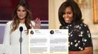 Vợ tỷ phú Trump bị tố 'đạo' bài phát biểu của phu nhân Obama